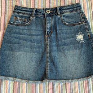 New Zara Girls Jean skirt